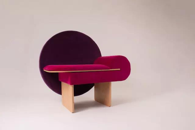 A Chair Called Vanity With Memphis Design Element Jjgle Com