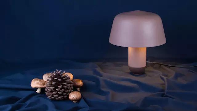 Bandido Studio,Mexico Bandido Studio Launches New Mushroom Table Lamp, Gentle Color and Shape