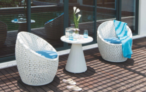 SALIMA Outdoor chair rattan