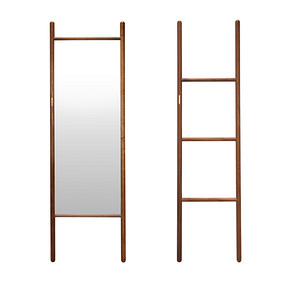 素镜素架 Modern Chinese Style Vertical mirror and rack
