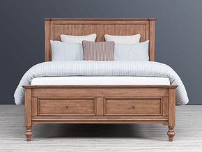 0008 Classical style Bed