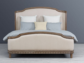 778 Classical style Bed