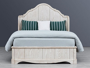 747 Classical style Bed