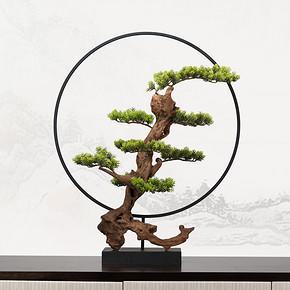 新中式仿真盆景花艺摆件FD1811-11