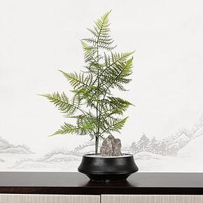 新中式仿真盆景花艺摆件FD1811-13