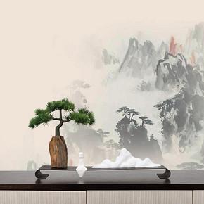 新中式仿真盆景花艺摆件FD1811-14