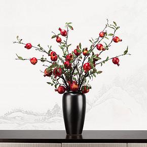 新中式仿真盆景花艺摆件FD1811-16