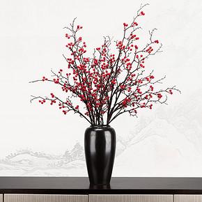 新中式仿真盆景花艺摆件FD1811-17