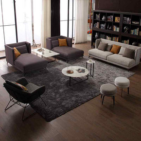 C62 意式极简时尚简约布艺沙发 Minimalist Italian Style Sofa