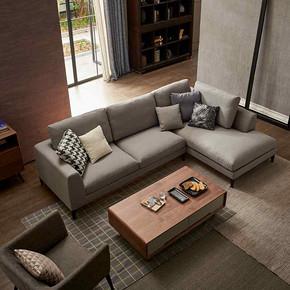 CC14极简北欧时尚布艺沙发 Minimalist nordic fashion fabric sofa