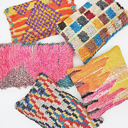 Roomology摩洛哥手工羊毛编织抱枕