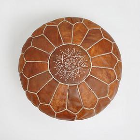 Roomology摩洛哥进口手工羊皮坐垫