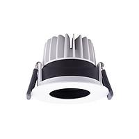 圆形LED防眩光射灯走廊天花嵌入式筒灯客厅吸顶灯