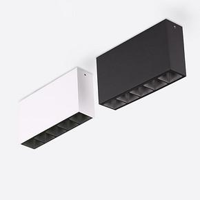 仙人掌先生LED明装射灯条形灯衣柜天花灯长条明装5头厨房客厅条灯