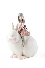 《白夜童话》-月光兔Moonlight rabbit