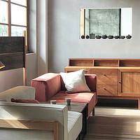 方软沙发+餐边柜