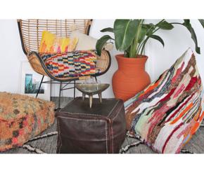 Roomology摩洛哥进口手工豆袋沙发