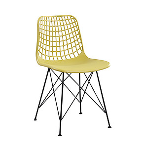Plastic chair 1691 Yellow