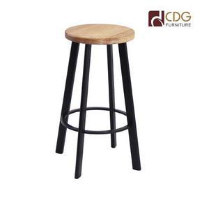 627-H65-STW Cafe bar stool bar chair metal bar stool