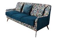 TENGYE new modern light luxury designer sofa stainless steel living room fabric sofa SF-819
