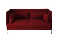 TENGYE Modern Fabric Sofa Lightweight Luxury Living Room Stainless Steel Metal Base Hotel Sofa SF-820