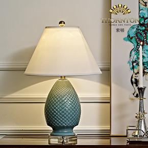 陶瓷+水晶工艺台灯