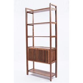 DT-MDH-SH001(点子书架)Solid Wood Bookshelf Modern Chinese