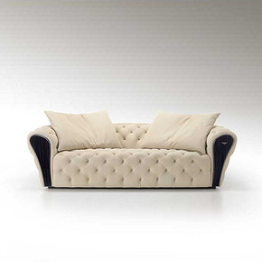 后现代家具宾利三人沙发
