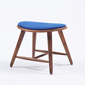 DT-MDH-CH003(荷风凳)Solid Wood Stool Modern Chinese