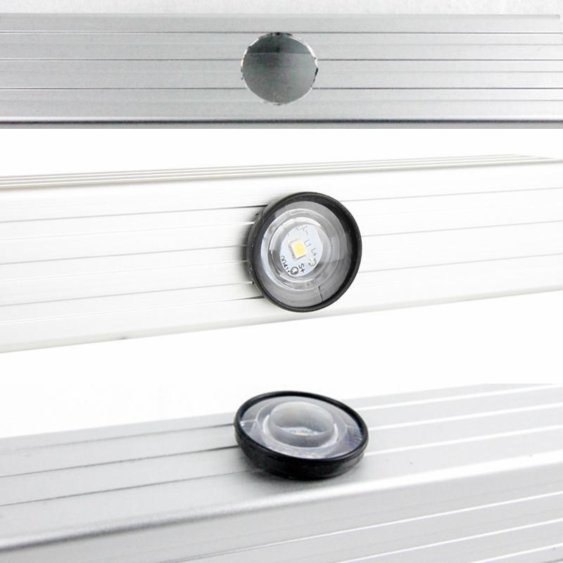 改装游艇房车灯,按压开关LED装饰灯,防水纽扣灯,低压侧边氛围灯